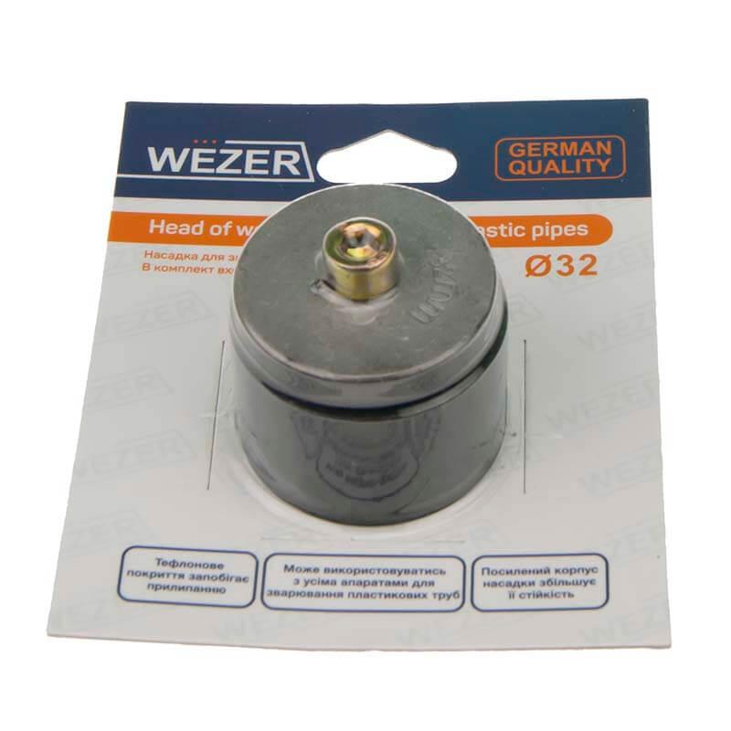 Насадка для плоского паяльника Wezer 25мм