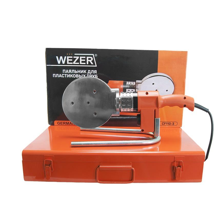 Паяльник плоский для труб Wezer CF110-3