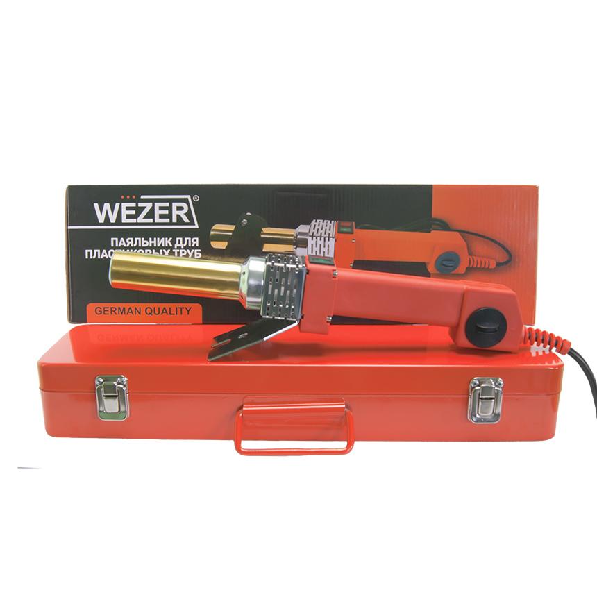 Паяльник круглый для труб Wezer CF32-T