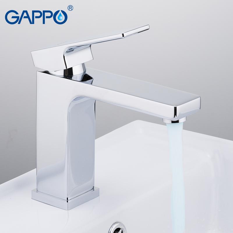 Смеситель для умывальника Gappo Futura G1018