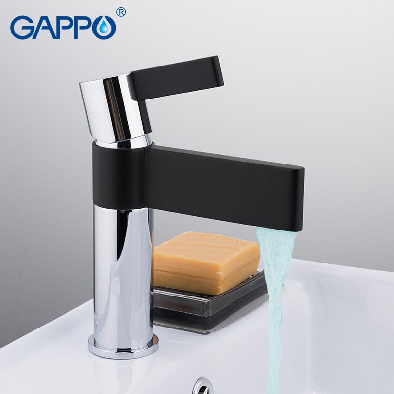 Смеситель для умывальника Gappo Atalantic G1081