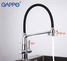 Смеситель для кухни Gappo G4398-7 на две воды