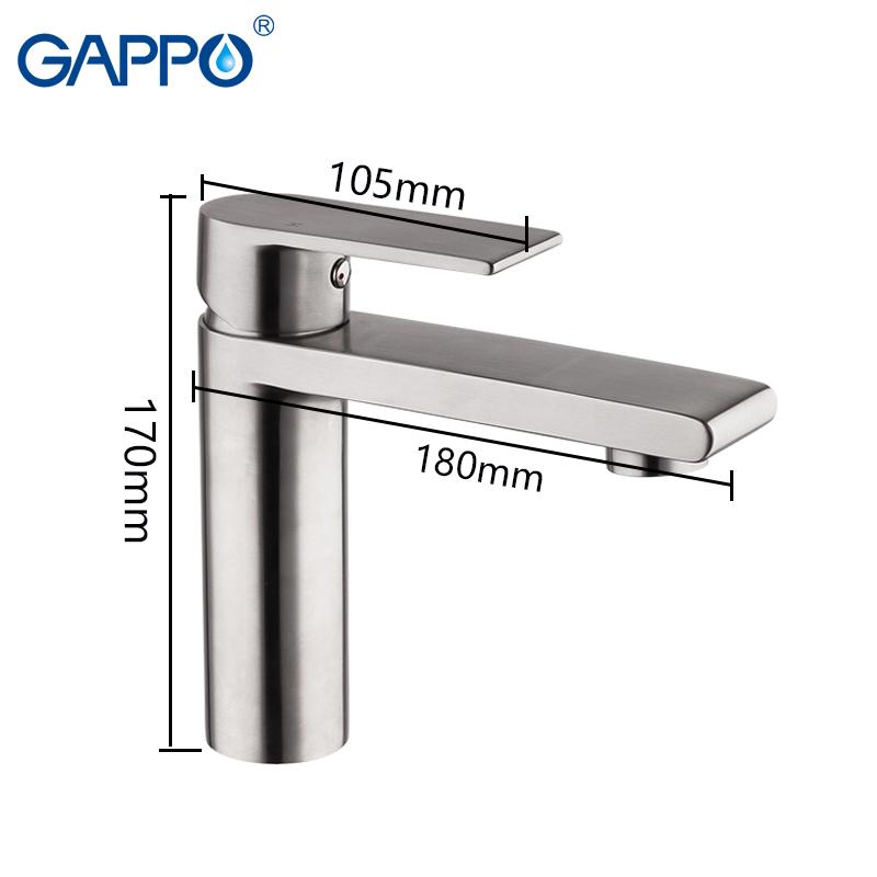 Смеситель для умывальника Gappo SATENRESU-KO G1099-20
